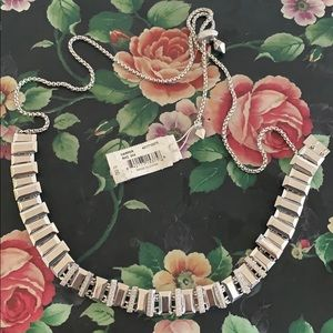 Kendra Scott silver retired necklace
